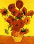 Живопись | Винсент ван Гог | Пятнадцать подсолнухов в вазе, 1888
