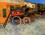 Живопись | Винсент ван Гог | Тараскон. Дилижанс, 1888