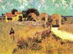 Живопись | Винсент ван Гог | Фермерский дом в Провансе, 1888