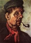 Живопись | Винсент ван Гог | Head of a Peasant with a Pipe