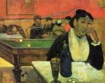 Живопись | Поль Гоген | В кафе. Мадам Жино, 1888