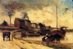 Живопись | Поль Гоген | Угольные фабрики и набережная Гренеля, 1875