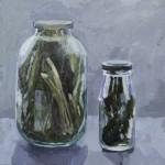 Живопись | Саша Пастернак | Банка с травами