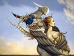 Живопись | Michael Parkes | Diamond Warrior