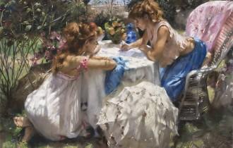 Девушки Средиземноморья Висенте Ромеро Редондо