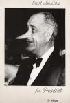 Фотография   Arthur Fellig (Weegee)   Draft Johnson for President