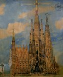 Архитектура | Антонио Гауди | Temple Expiatori de la Sagrada Família | 02