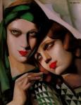 Живопись | Тамара де Лемпицка | Зеленый тюрбан, 1930