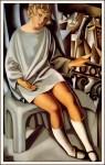 Живопись | Тамара де Лемпицка | Кизетта на балконе, 1927