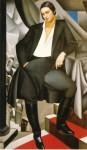 Живопись | Тамара де Лемпицка | Портрет графини де Ла Саль, 1925
