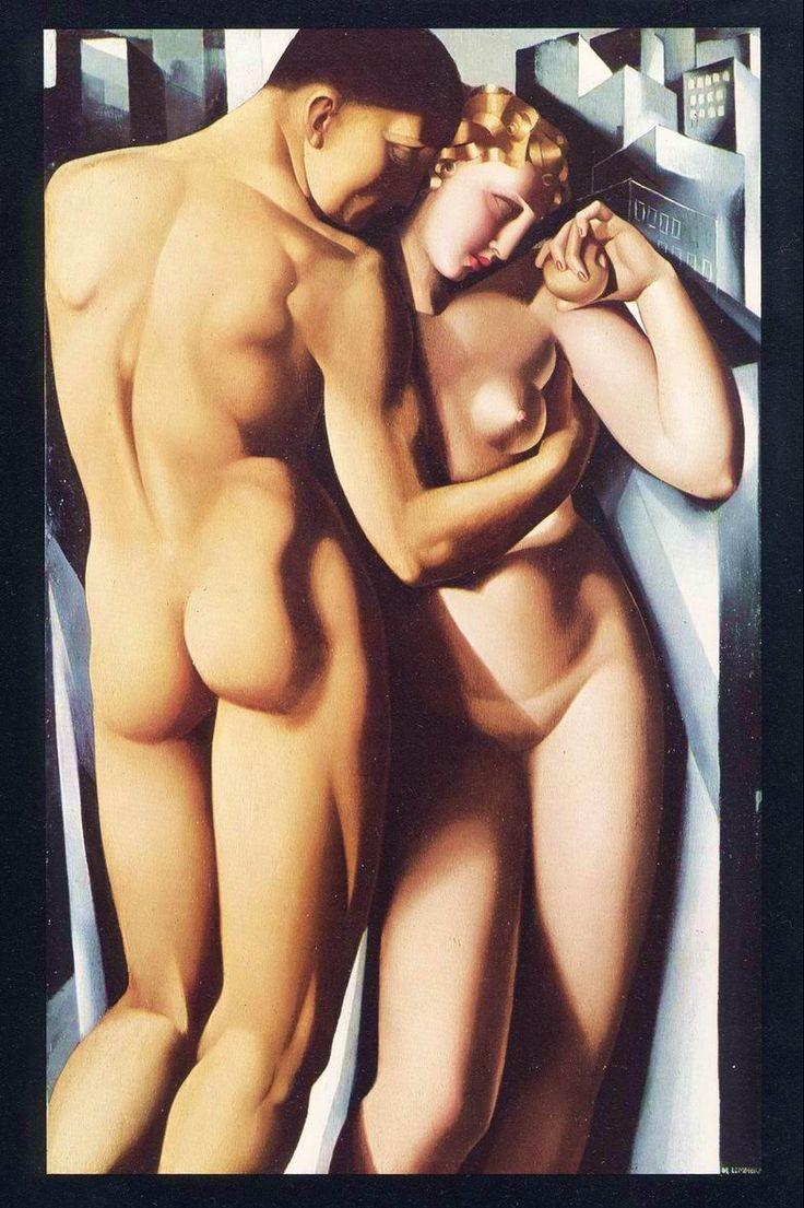 Тамара де Лемпицка. Adam and Eve, 1932