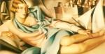 Живопись | Тамара де Лемпицка | Potrait of Arlette Boucard, 1928