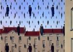 Живопись | René Magritte | Golconda, 1953