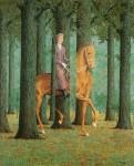 Живопись | René Magritte | Le Blanc Seing, 1965
