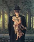 Живопись | René Magritte | Ready-Made Bouquet, 1956