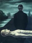 Живопись | René Magritte | The Musings of a Solitary Walker, 1926