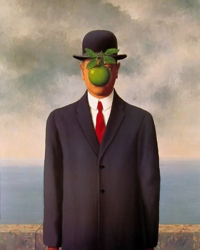René Magritte. The Son of Man, 1946