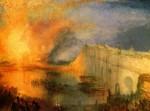 Живопись | Уильям Тёрнер | Пожар здания Парламента