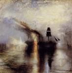 Живопись | William Turner | Покой: похороны в море