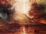 Живопись | Уильям Тёрнер | Mount vesuvius in Eruption, 1817