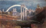 Живопись | Уильям Тёрнер | Rome the forum with a rainbow