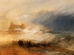 Живопись | Уильям Тёрнер | Wreckers Coast of Northumberland