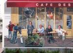 Стрит-арт | Patrick Commecy | Le café des acteurs | 09