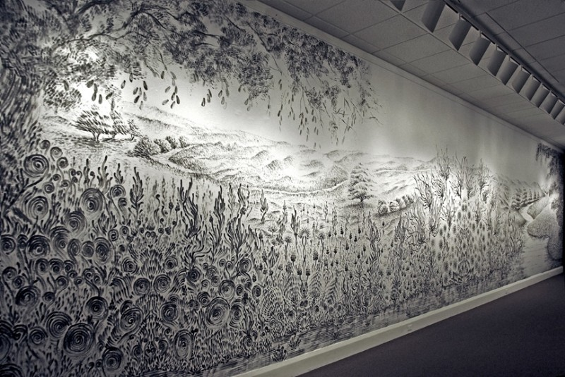 Рисунки углем от Джудит Браун