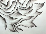 Графика | Judith ann Braun | FINGERING #4. detail
