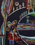 Живопись | Дарико Беридзе | Серия «Детство» | Маленькая я