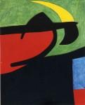 Живопись   Жоан Миро   Catalan Peasant in the Moonlight, 1968