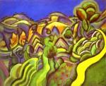 Живопись   Жоан Миро   Ciurana, the Path, 1917