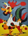 Живопись | Жоан Миро | Le coq, 1940