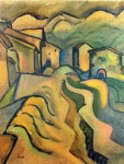Живопись   Жоан Миро   Paseo a la ciudad, 1917