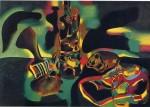 Живопись | Жоан Миро | Still Life with Old Shoe, 1937