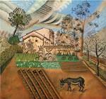 Живопись | Жоан Миро | The Vegetable Garden with Donkey, 1918