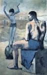 Живопись | Пабло Пикассо | Девочка на шаре, 1905