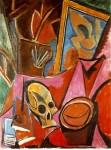 Живопись | Пабло Пикассо | Composition avec tete de mort, 1908