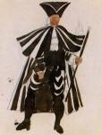 Живопись | Пабло Пикассо | Costume design for ballet