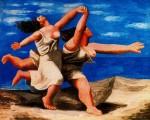 Живопись | Пабло Пикассо | Deux femmes courant sur la plage (La course), 1922