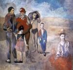 Живопись | Пабло Пикассо | Family of acrobats (Jugglers), 1905