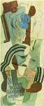 Живопись | Пабло Пикассо | Femme a la guitare, 1913