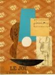 Живопись | Пабло Пикассо | Guitare, feuille de musique et verre, 1912