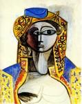 Живопись | Пабло Пикассо | Jacqueline in turkish costume, 1955