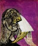 Живопись | Пабло Пикассо | La femme qui pleure, 1937 | 01