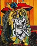 Живопись | Пабло Пикассо | La femme qui pleure, 1937 | 02