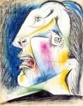 Живопись | Пабло Пикассо | La femme qui pleure, 1937 | 03