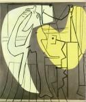 Живопись | Пабло Пикассо | Le peintre et son modele, 1927