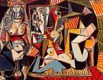 Живопись | Пабло Пикассо | Les femmes d'Alger (Delacroix), 1955