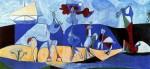 Живопись | Пабло Пикассо | Lust for life (Pastorale), 1946